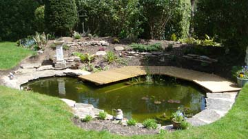 A Recent Pond Built In Charminster